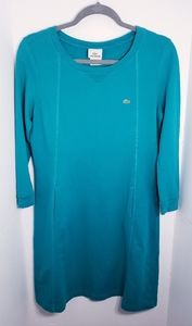 LACOSTE Terry Cloth Dress Size 40 or Medium